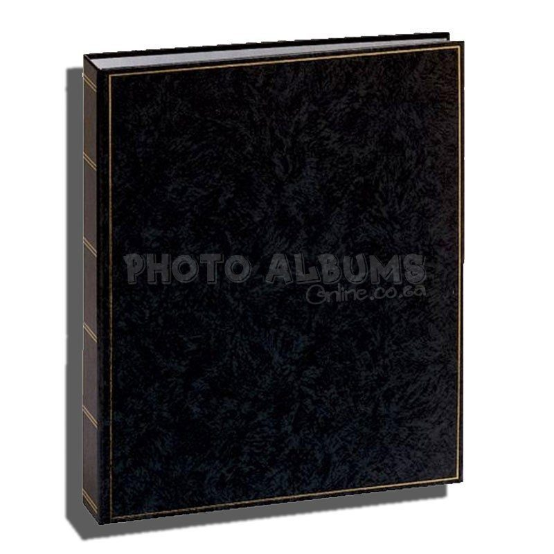 Basic Line Album Traditional 300 X 365 Black Pages Photo Albums Online